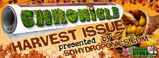 The SD Hydro Chronicle - Harvest Issue